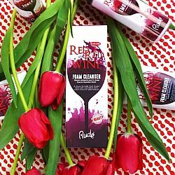 Pena za čiščenje lica - Red Wine Foam Cleanser