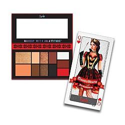 Paleta od 11 boja za lice - FACE CARD PALETTE - Queen of Hearts