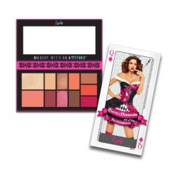Paleta od 11 boja za lice - FACE CARD PALETTE - Queen of Diamonds