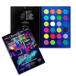 Paleta senki i pigmenata City of Neon Lights