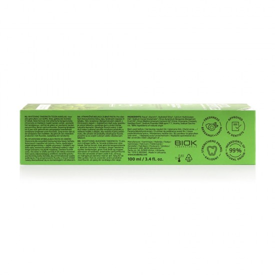 Pasta za izbeljivanje zuba sa citrusima Ecodenta EXPERT LINE EXCEPTIONAL WHITENING 100ml